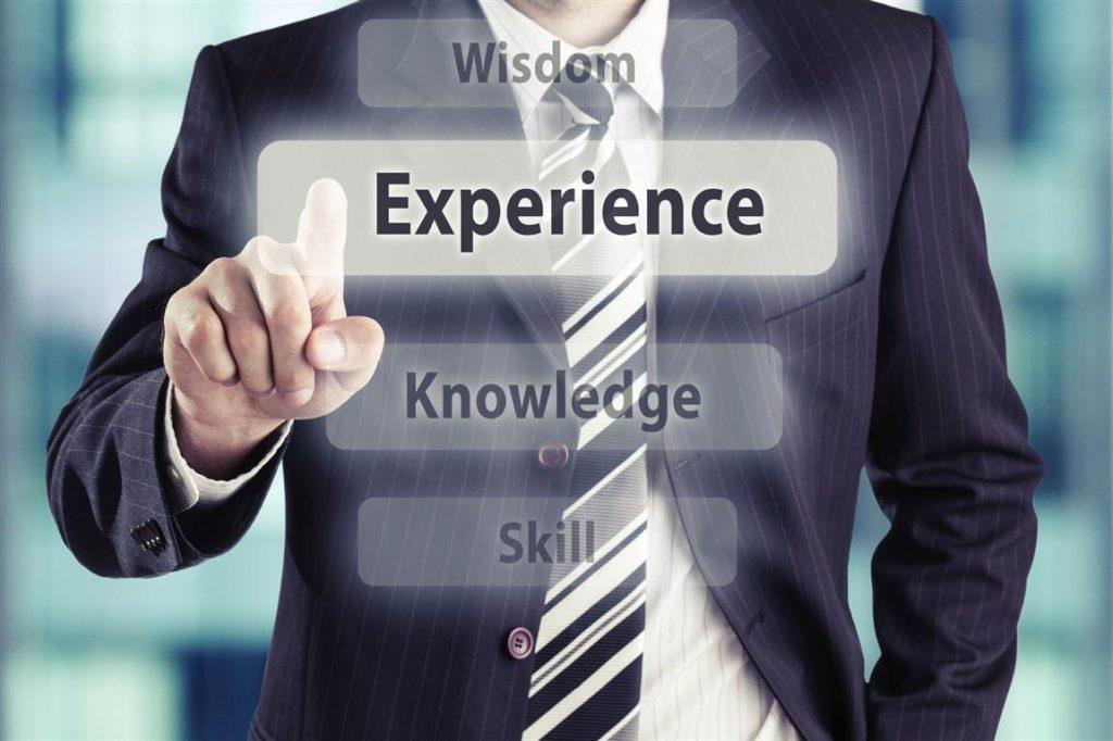 talento y experiencia