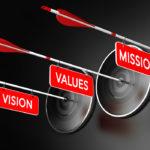 ¿Cuál es la diferencia entre misión y visión en la empresa consciente?